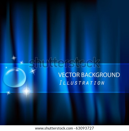 abstract aqua vector backgrounds - stock vector