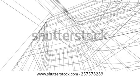 Abstract architectural background. Building construction