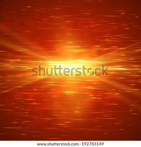 Abstract ardent background. Vector illustration - stock vector