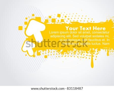 abstract arrow vector background - stock vector