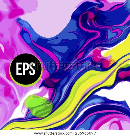 Abstract art backgrounds in vector - stock vector