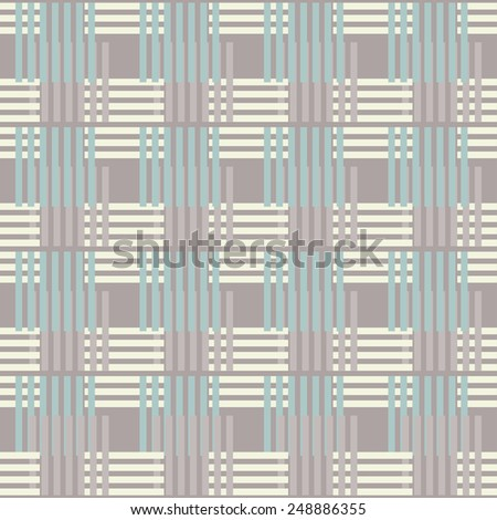 Abstract art stripped geometric seamless pattern. Lines, stripes. Repeating background texture. Cloth design. Wallpaper, wrapping - stock vector