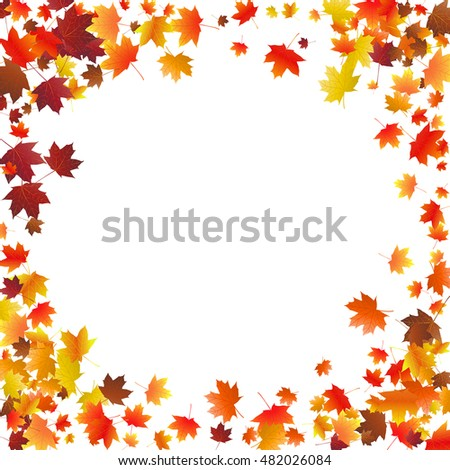 fall leaves flyer - Bogas.gardenstaging.co