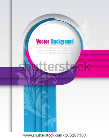Abstract  Background. - stock vector