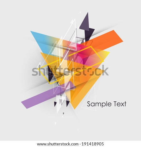 Abstract background.Abstract line vector background.Abstract colorful background. - stock vector