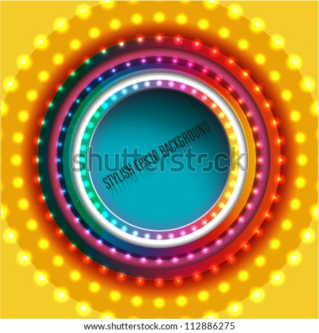 abstract background, advertising, brochure or website template - stock vector