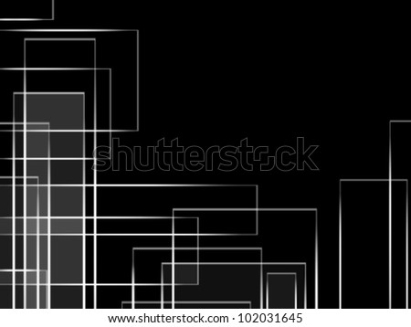 Abstract background black - stock vector