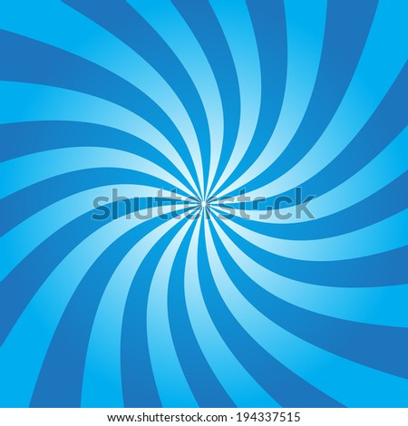 Abstract background blue beam spin ,vector eps10 - stock vector