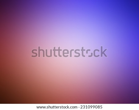 Abstract Background - Blurred blue magenta sunset tone - stock vector