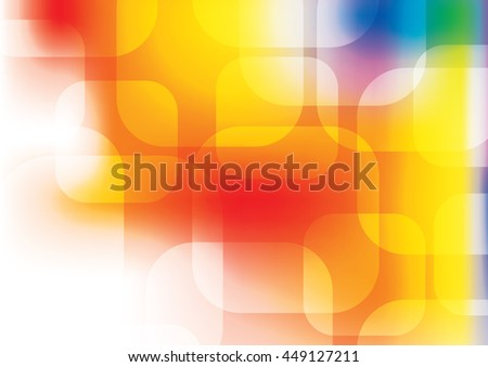 Abstract background. Chaotic cubes with copy spaces. - stock vector