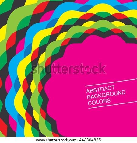 abstract background Colors, vector illustration