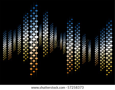 abstract background columns