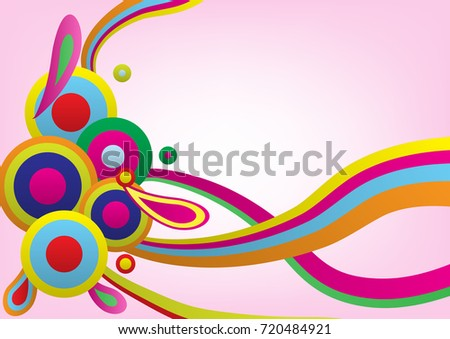 Abstract background concept colorful.