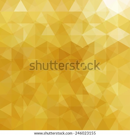 abstract background consisting of triangles - stock vector