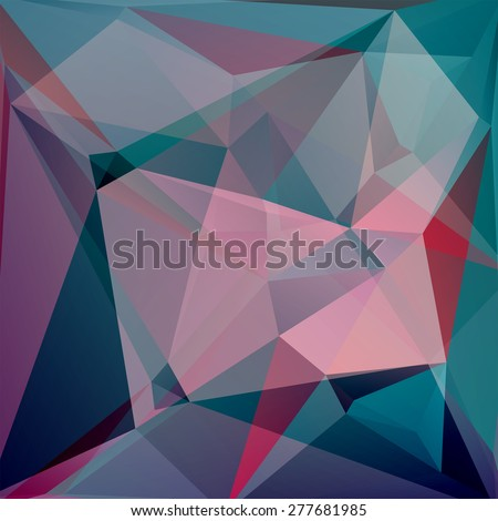 abstract background consisting of triangles.