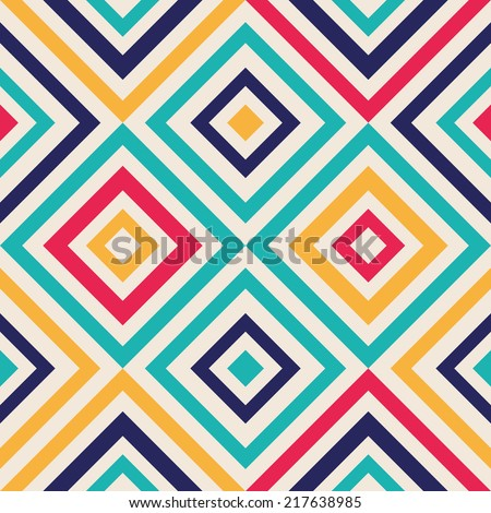 Abstract background - crazy colorful lines. Vector illustration. - stock vector
