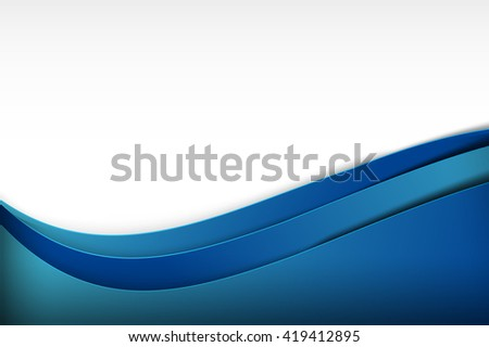 Abstract background curve and overlap layer illustration blue eps10