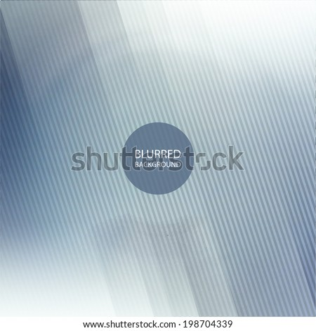 Abstract Background Design with Blurred Image Pattern - stock vector