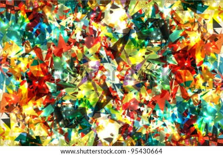 abstract background design with vivid colors - stock vector