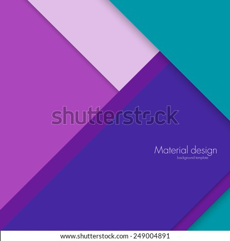 Abstract background digital design material design template - stock vector