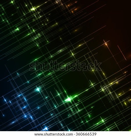 Abstract background easy all elements editable - stock vector