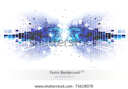 Abstract background.Easy to edit. Vector illustration. - stock vector