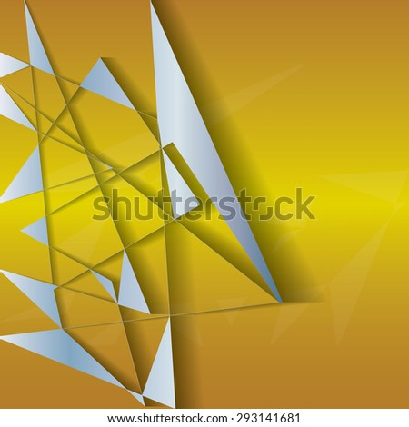 Abstract background elegant metallic, vector. - stock vector