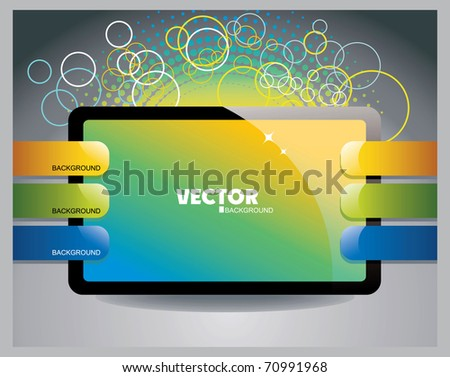 abstract background eps10 - stock vector