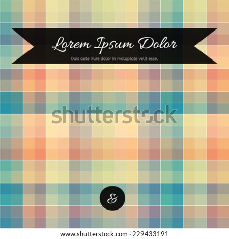 Abstract background for business blank, card, flyer, banner, invitation, advertisement, brochure, book cover multicolored design template with text box. Square colorful backdrop.