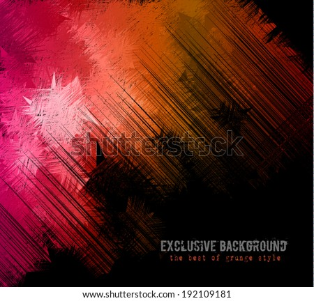 Abstract background for business card or brochures cover or high tech flyers. - stock vector