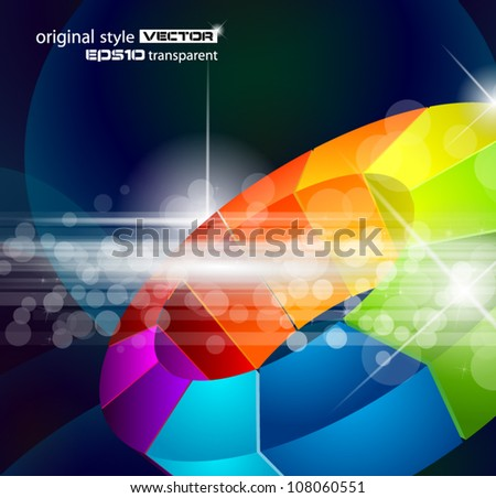 Abstract background for corporate brochure, business presentation or flyers and depliant covers. - stock vector