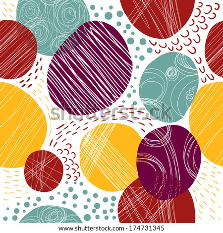 Abstract background for design. Seamless pattern. Modern colors for your design.