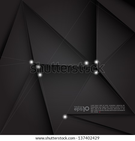 Abstract background for design, vector format - stock vector