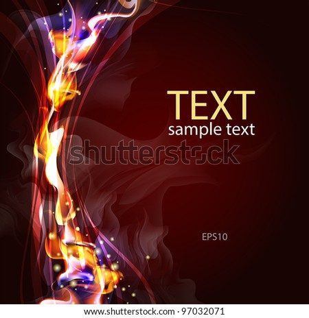 Abstract background for design  (Vector Illustratio) - stock vector