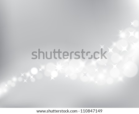 Abstract background for design, vector light bokeh - stock vector