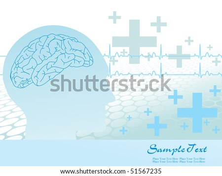 abstract background for doctor day, illustration - stock vector