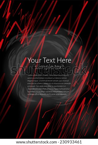 Abstract Background for Text - stock vector