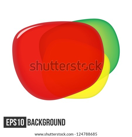 Abstract Background For Text. Traffic Light. Vector eps10 - stock vector