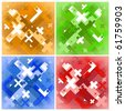 abstract background (four different colors) - stock