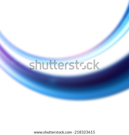 Abstract Background, Futuristic Wavy Design. Vector Illustration. Eps 10 - stock vector