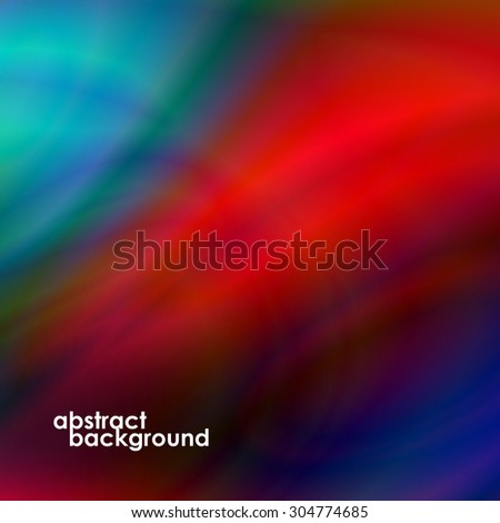 Abstract background, futuristic wavy shapes. Vector illustration. Eps 10 - stock vector