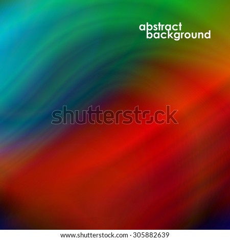 Abstract background, futuristic wavy shapes . Vector illustration. Eps 10 - stock vector