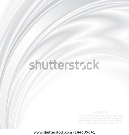 Abstract background futuristic wavy vector. - stock vector