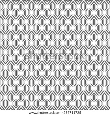 Abstract background, geometric hexagon pattern design template for you layout, vector illustration 2 - stock vector