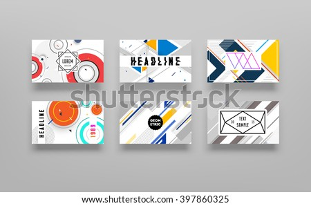 Abstract Background. Geometric Shapes and Frames for Presentation, Annual Reports, Flyers, Brochures, Leaflets, Posters, Business Cards and Document Cover Pages Design. A4 Title Sheet Template - stock vector