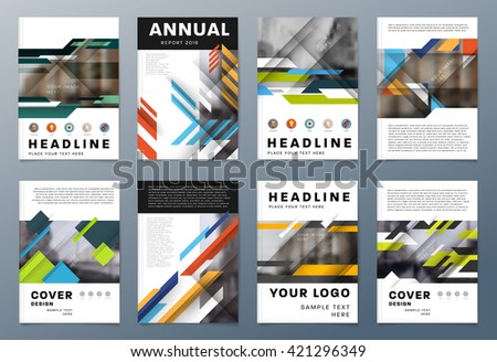 Cover page design stock images royalty free images vectors abstract background geometric shapes and frames for presentation annual reports flyers brochures sciox Choice Image