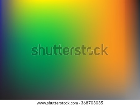 Abstract background green and yellow color