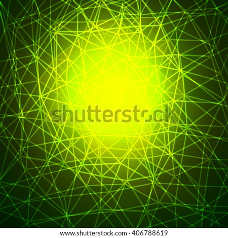 Abstract background green texture design. - stock vector