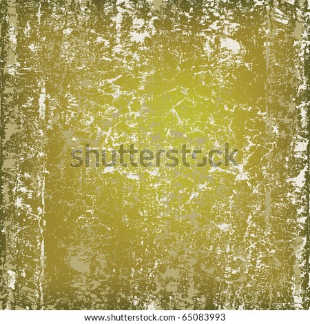 abstract background grunge wall green - stock vector