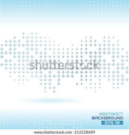 Abstract background - Illustration - stock vector